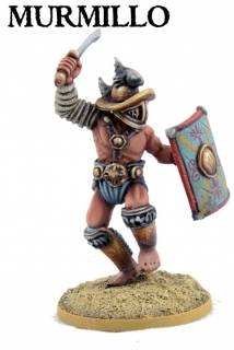 Murmillo Gladiator - JUGULA Figur (english)