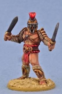 Dimachaerius Gladiator - JUGULA Figur (english)