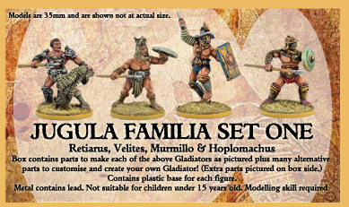 Familia Set One - JUGULA Figur (english)