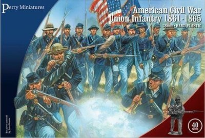 American Civil War Union Infantry (1861-1865) - Perry Miniatures