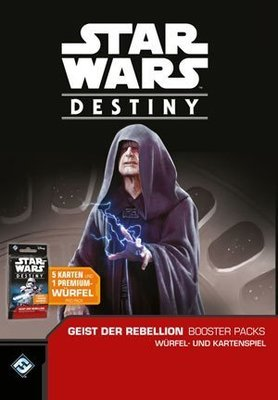 Star Wars: Destiny - Geist der Rebellion Booster (36)-Display DEUTSCH