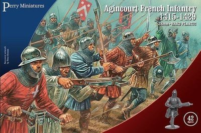 Agincourt French Infantry - Perry Miniatures