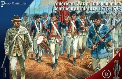 American War of Independence Continental Infantry 1776-1783 - Perry Miniatures