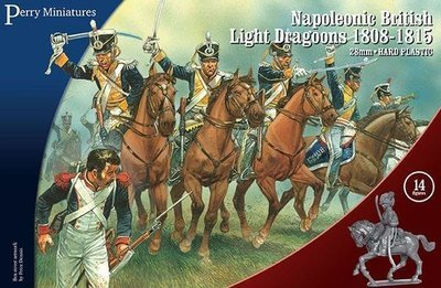 Napoleonic British Light Dragoons 1808-15 - Perry Miniatures
