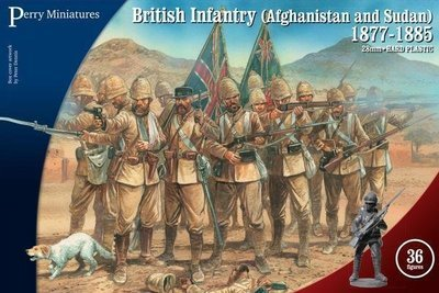 British Infantry (Afghanistan and Sudan) 1877-1885 - Perry Miniatures