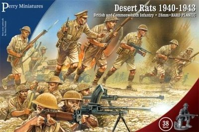 Desert Rats 1940 - 43 - Perry Miniatures