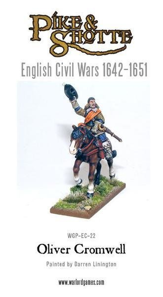 Oliver Cromwell - Pike & Shotte - Warlord Games