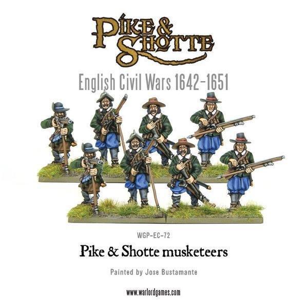 Musketeers - Pike & Shotte - Warlord Games