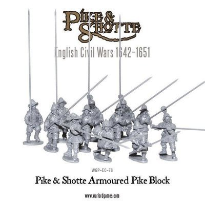 Pike & Shotte Armoured Pike Block - Pike & Shotte - Warlord Games