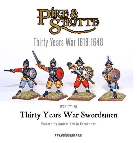 Thirty Years War Swordsmen - Pike & Shotte - Warlord Games