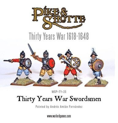 Thirty Years War Swordsmen - Pike & Shotte - Warlord Games