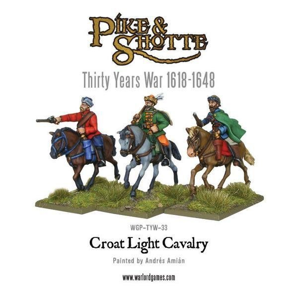 Croat Cavalry - Pike & Shotte - Warlord Games