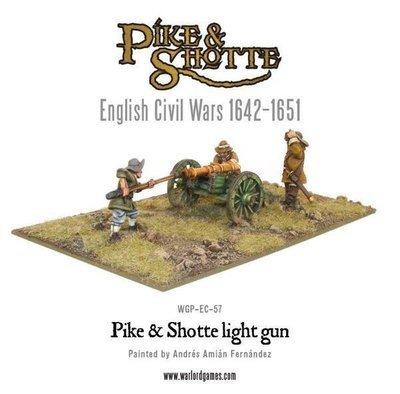 Light Gun & Crew - Pike & Shotte - Warlord Games