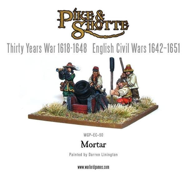 Mortar & Crew - Pike & Shotte - Warlord Games