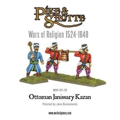 Ottoman Janissary Kazan - Pike & Shotte - Warlord Games