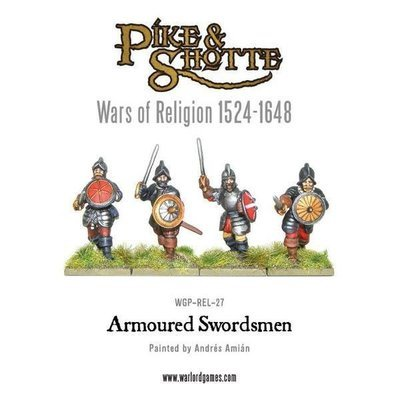 Armoured Swordsmen - Pike & Shotte - Warlord Games