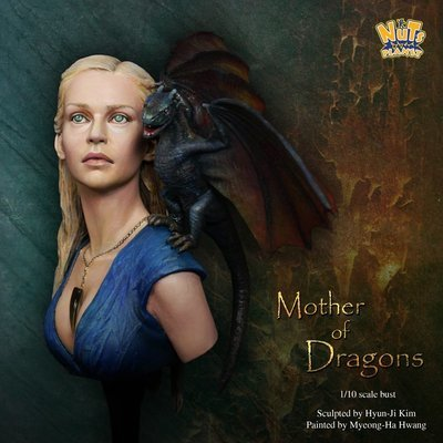 Mother of Dragons Bust Büste - Nutsplanet