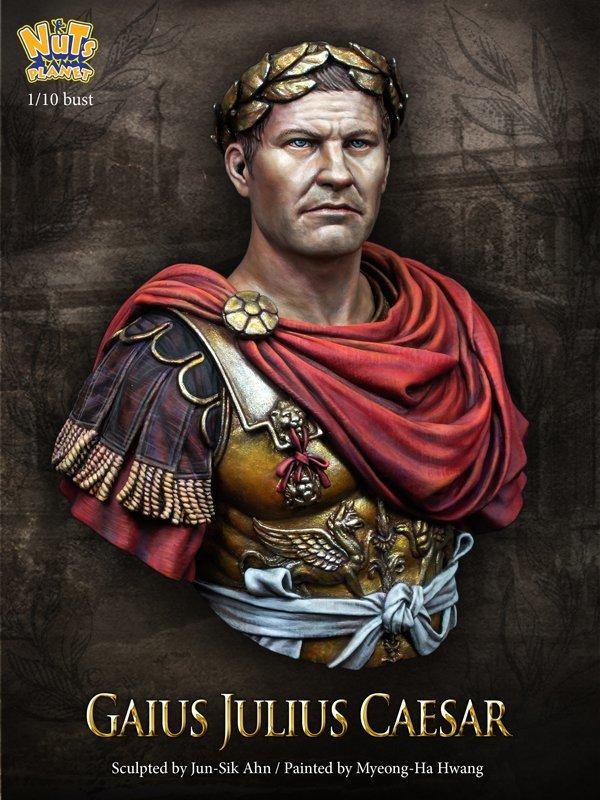 Gaius Julius Caesar Bust Büste - Nutsplanet