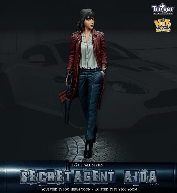 Secret Agent Aida - Nutsplanet
