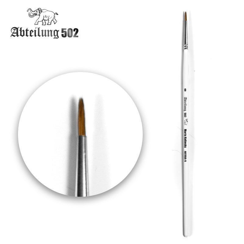 ABT-Marta-Kolinsky-Round-Brush-0 - Abteilung 502 Pinsel