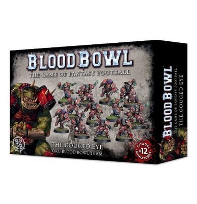 The Gouged Eye Team (Orks) - Blood Bowl - Games Workshop