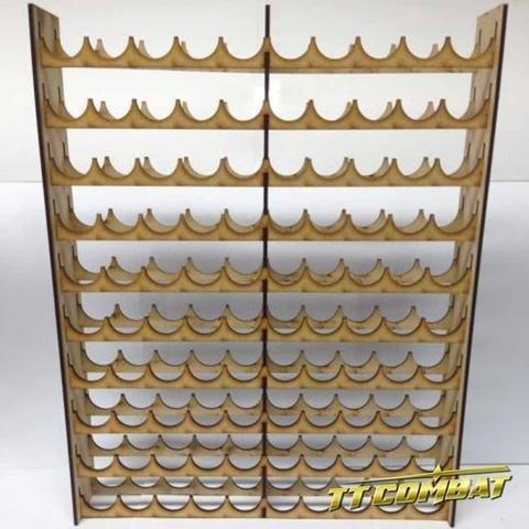 Vallejo/Warpaint Mega Paint Rack 100 - Farbregal - TTCombat MPRVAL100