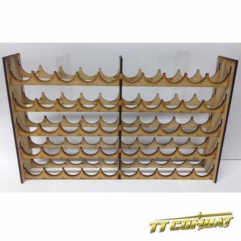 Vallejo/Warpaint Mega Paint Rack 50 - Farbregal - TTCombat MPRVAL50