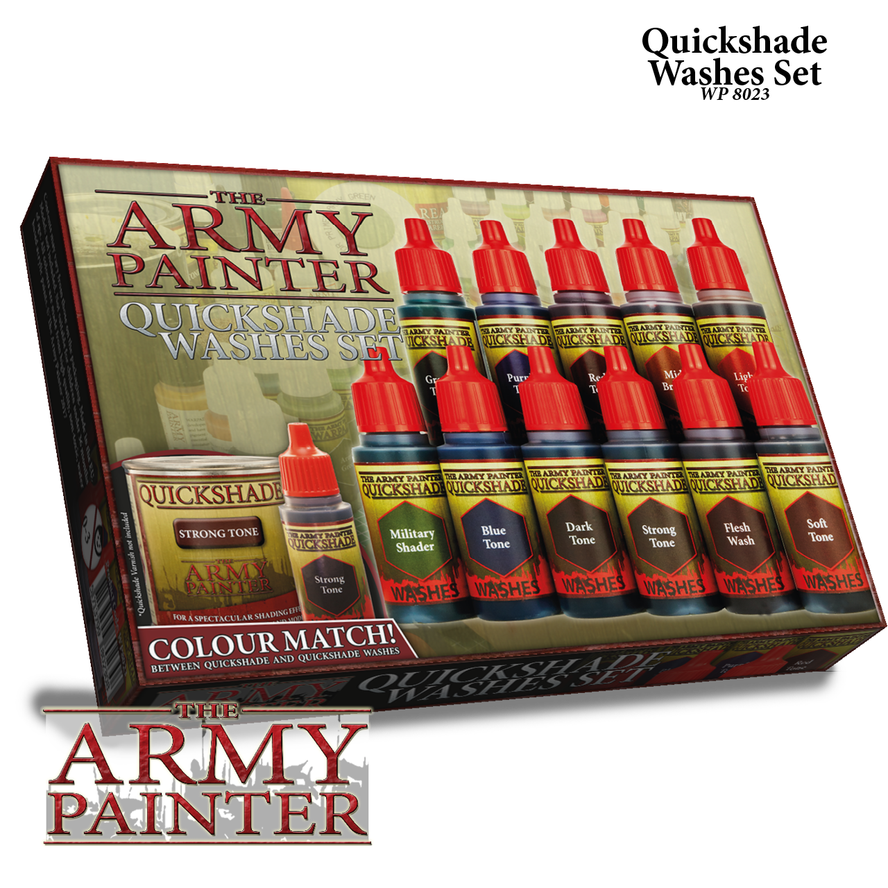 Warpaints Quickshade Washes Set - Army Painter Warpaints 030001WP8004