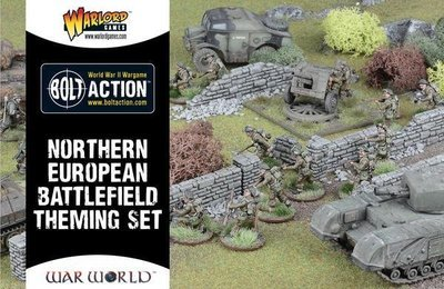 Northern Europe Battlefield Theme Set - Warlord Games