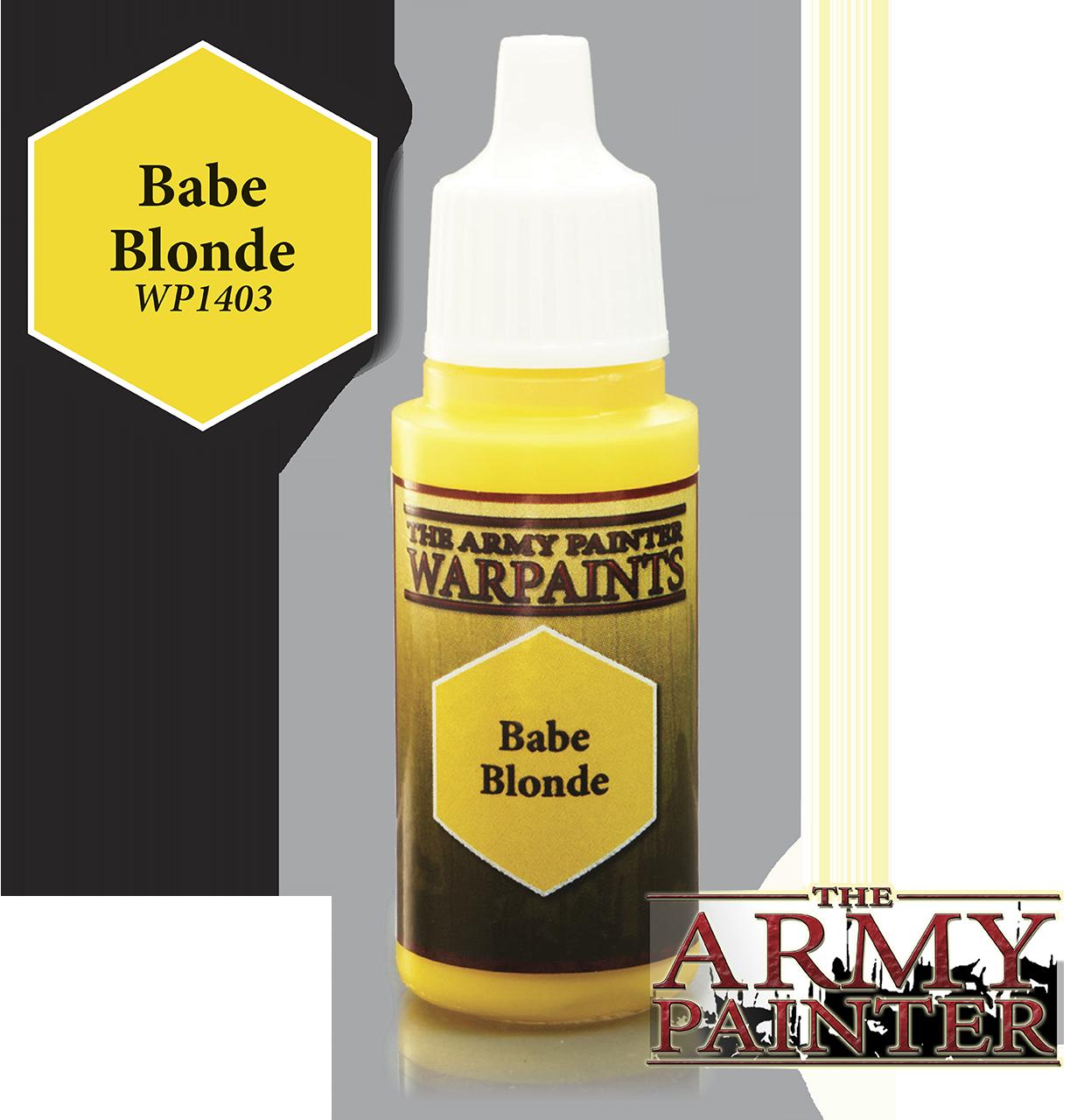 Babe Blonde - Army Painter Warpaints