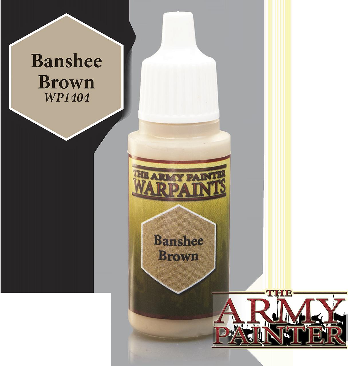 Banshee Brown - Army Painter Warpaints WP1404