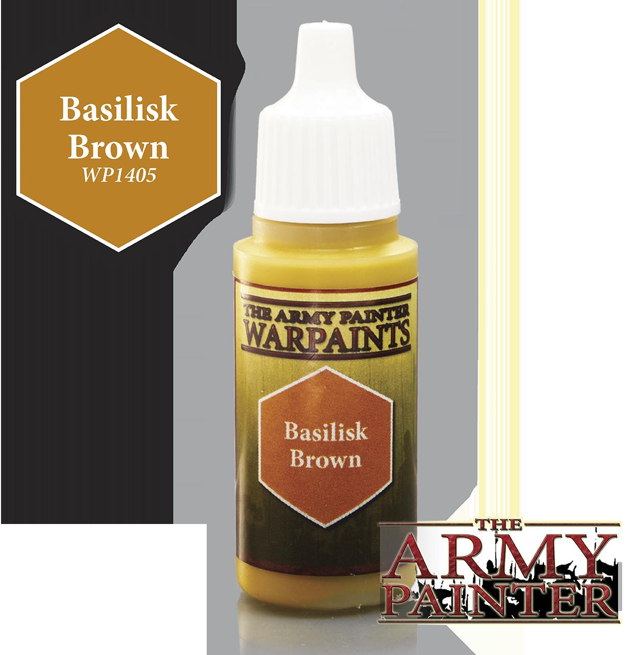 Basilisk Brown - Army Painter Warpaints WP1405