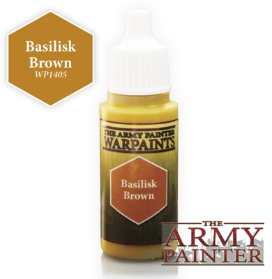 Basilisk Brown - Army Painter Warpaints