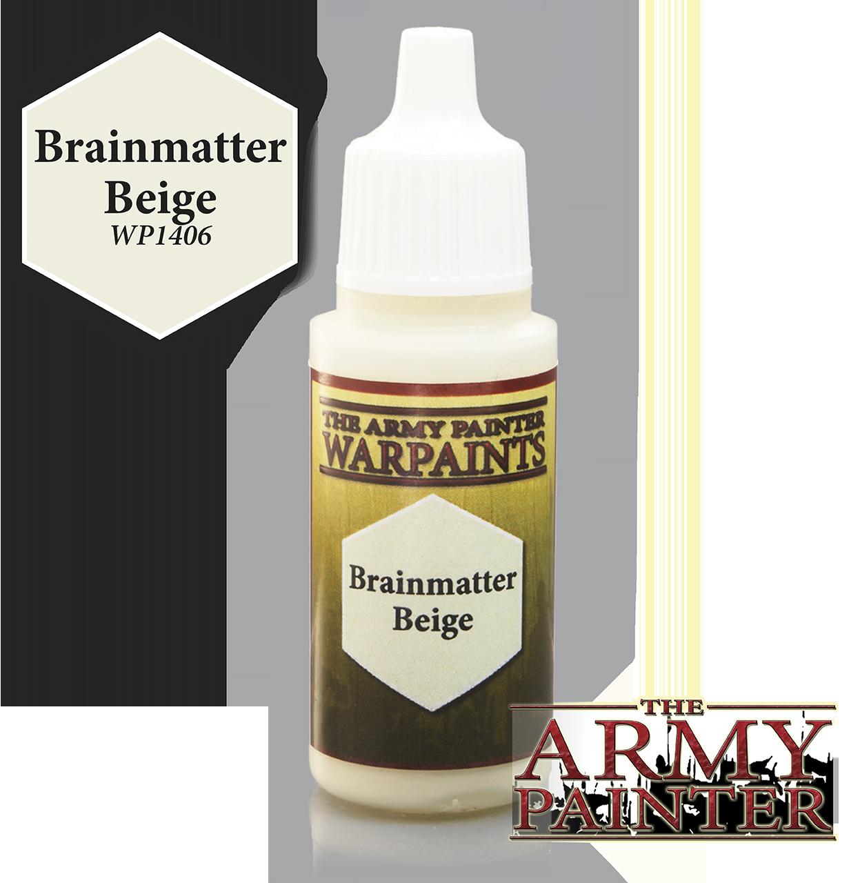 Brainmatter Beige - Army Painter Warpaints WP1406