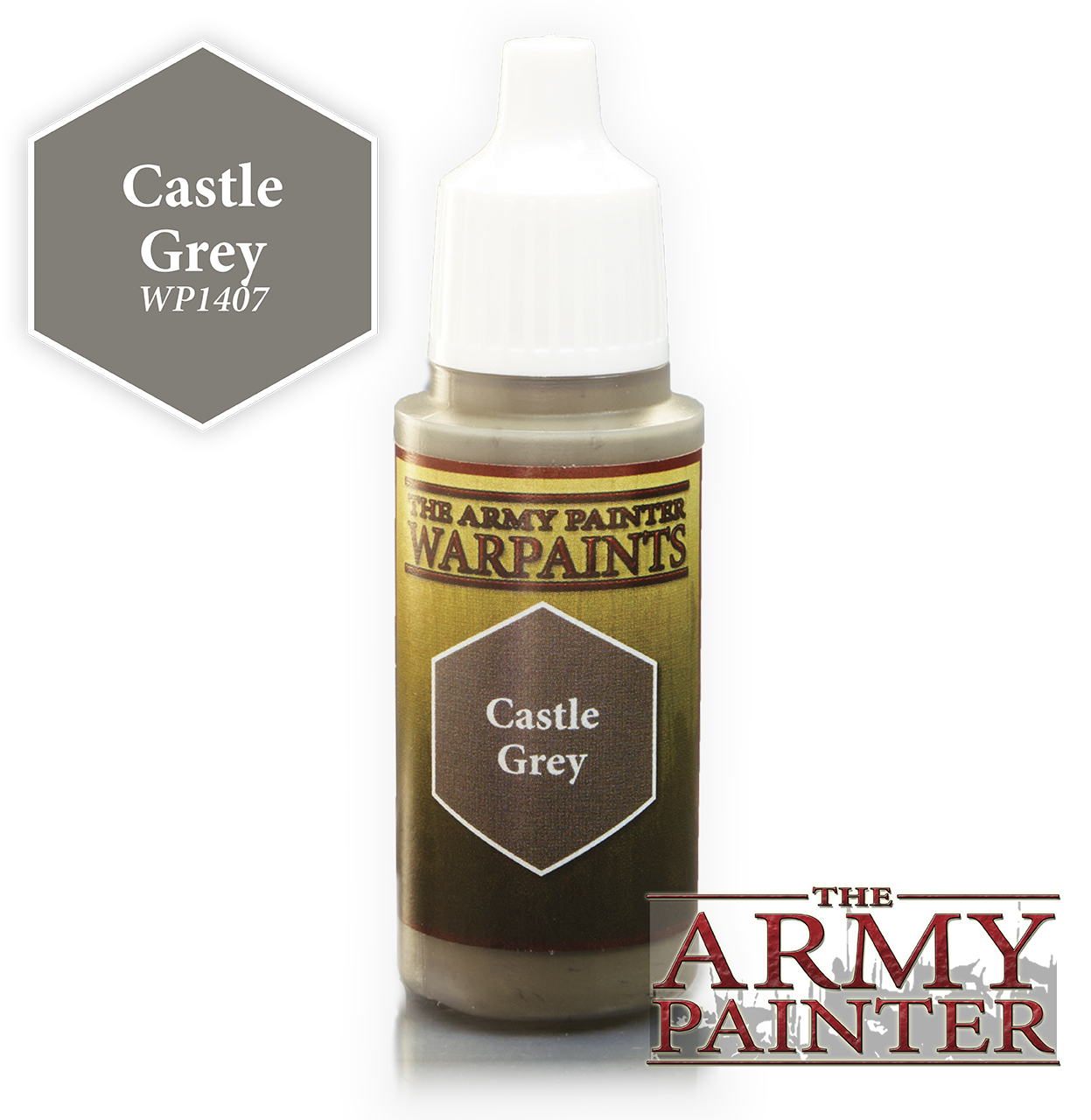 Castle Grey - Army Painter Warpaints WP1407