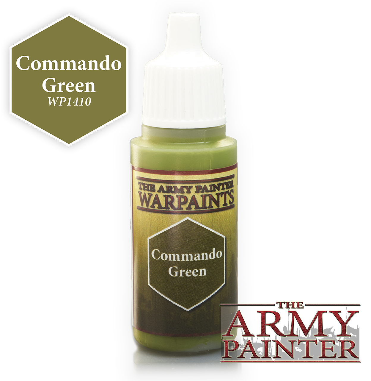 Commando Green - Army Painter Warpaints WP1410