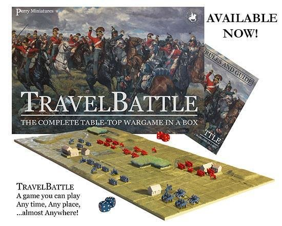 Travel Battle set (Travelbattle) - Perry Miniatures
