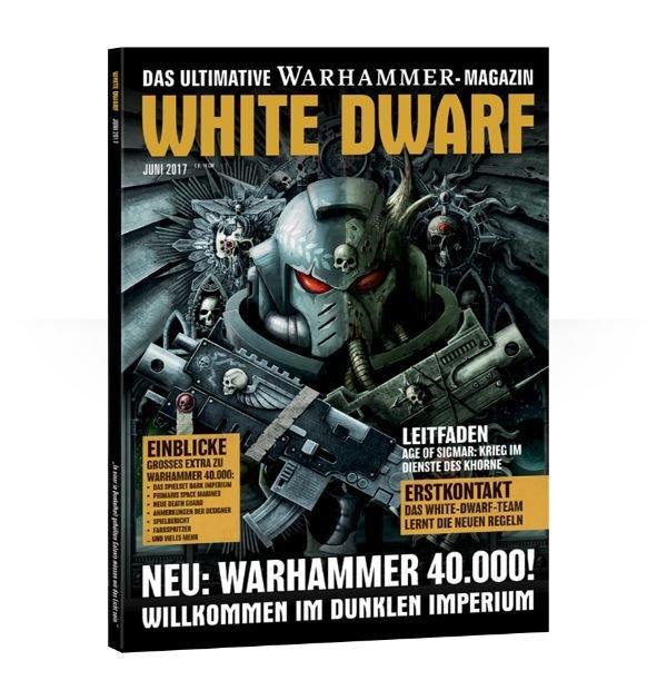 White Dwarf Juni 2017 (Deutsch) - Games Workshop 04249999559