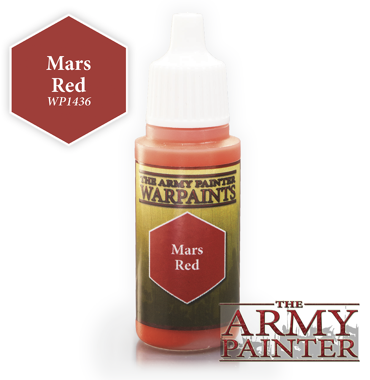 Mars Red - Army Painter Warpaints WP1436