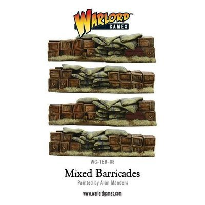 Anglo-Zulu War Mixed Barricade set - Warlord Games