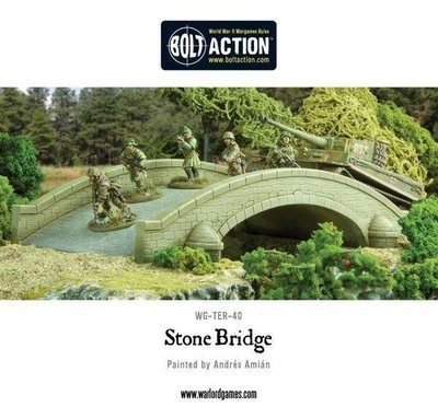 Stone Bridge plastic boxed set - Brücke - Warlord Games