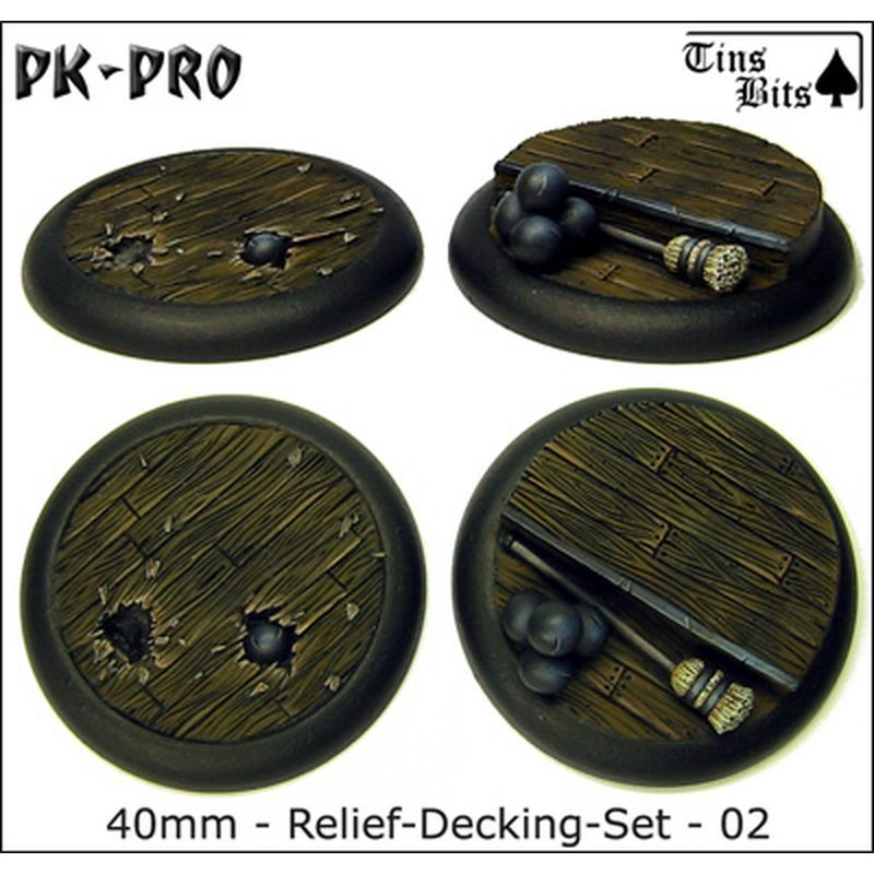 40mm Relief Decking Set 2 Bases 2x PK-W40-Deck-Set-02