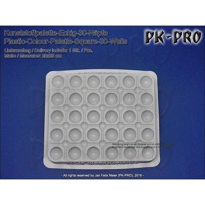 TS-Kunststoffpalette-Eckig-30-Näpfe-(20x23cm) - PK-Pro