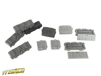 Ammo Crates - Sci-Fi Gothic - TT-Combat