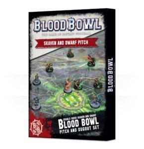 Blood Bowl Skaven / Dwarf-Spielfeld Pitch - Games Workshop