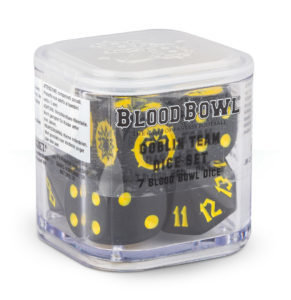 Blood Bowl Goblin-Würfel Dice - Games Workshop
