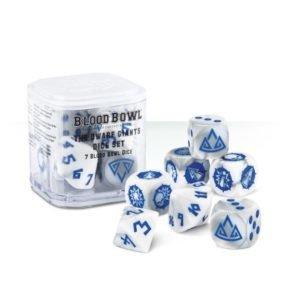 Blood Bowl Dwarf-Würfel Dice - Games Workshop