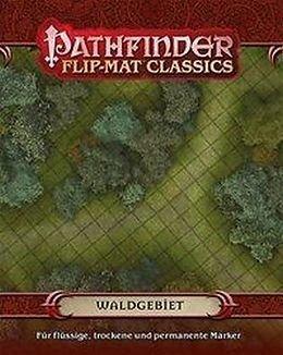 Pathfinder Flip-Mat Classics - Waldgebiet Woodlands 9783957522597