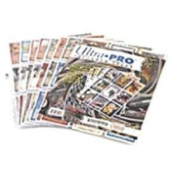 UP Ultra Pro - 9-Pocket Pages (11 Hole) Refill Pack (10 Pages) - Sichtmappen 074427813598
