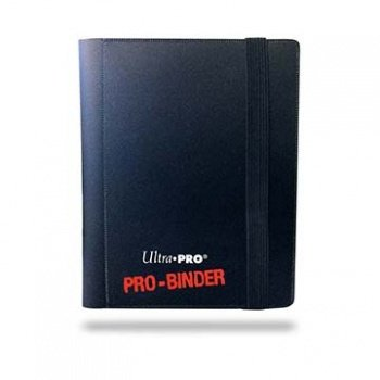 UP Ultra Pro - Pro-Binder - 9-Pocket Portfolio - Black - Sichtmappen - Heft 074427826000